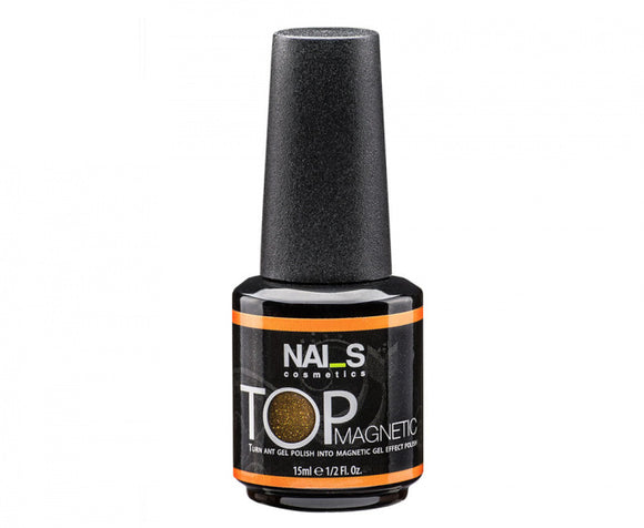 NAI_S® Gel TOP Coat MAGNETIC Gold UV/LED (15ml)