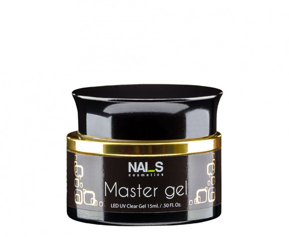 NAI_S® GEL Builder MASTER Clear UV/LED (15ml)