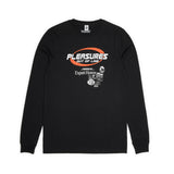 PLEASURES X Expert Horror. OUT OF LINE SPECIAL Long Sleeve T-Shirt