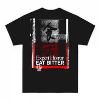 EAT BITTER X Expert Horror short sleeve t-shirt.