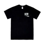 The Last Recorded Sound X BEAMS T Special.  Falling Cubes  T-Shirt (Black)