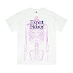 CORE Research HBX SPECIAL SKINNY MAN OVER PRINT T-Shirt (White)