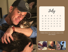 2018 Real Men Love Cats Calendar (LIMITED EDITION - SOLD OUT)