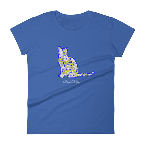 "Miao Bella women's short sleeve t-shirt in ""Baby Bluebells"""