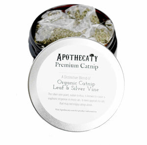 Apothecaty Organic Catnip & Natural Silver Vine Blend
