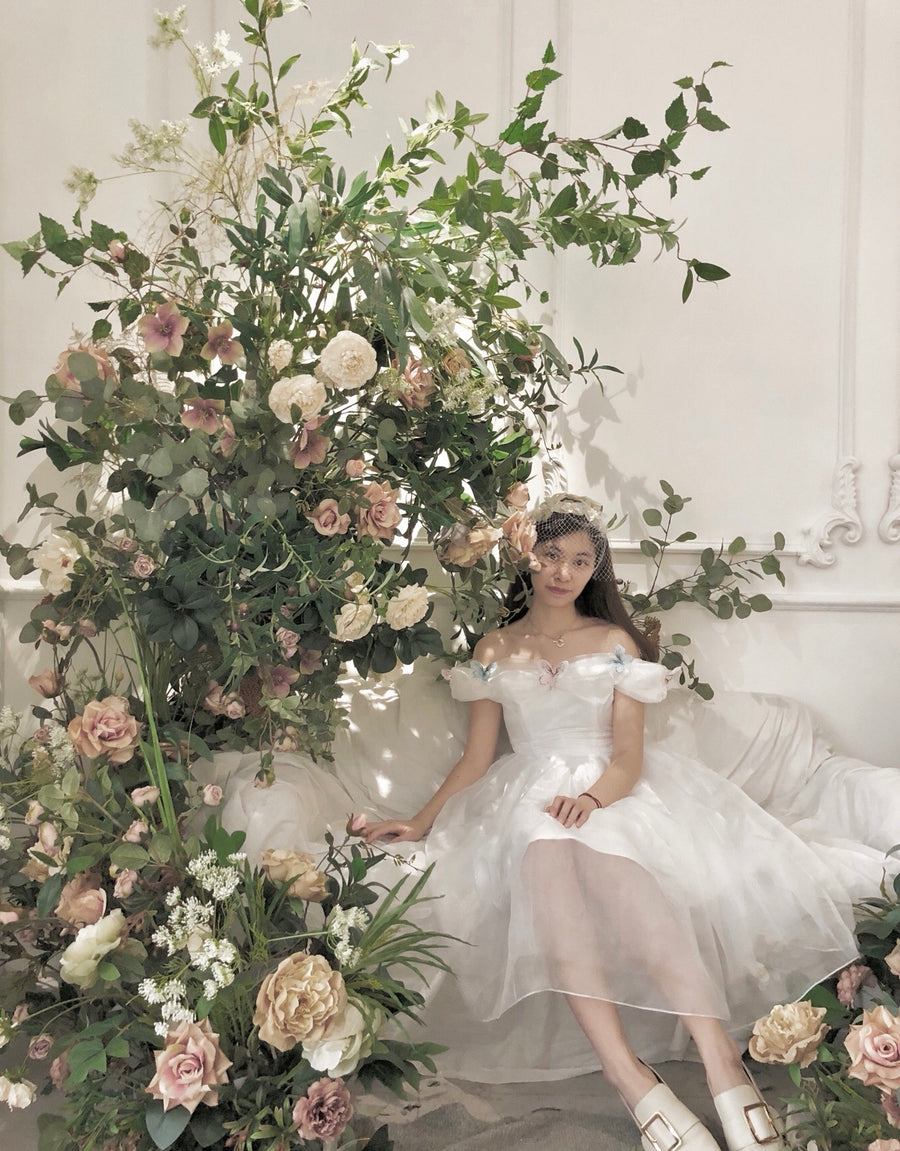 [Tailor Made] Snow White Dance Wedding dress [Premium Selected] - Peiliee Shop