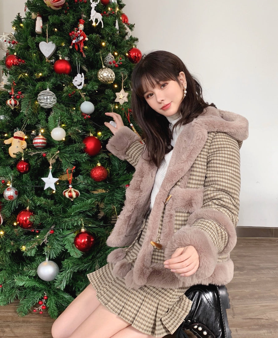 [Nakiss Original] All I want for Christmas is you - faux fur set - Peiliee Shop