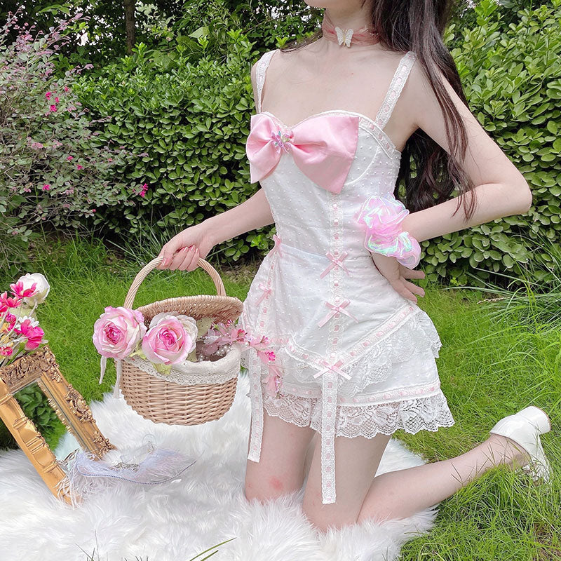 [Last stocks] My Darling Corset dress shorts set - Peiliee Shop