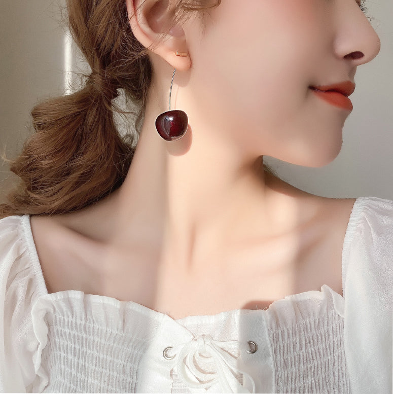 [2020 New Version] Cherry Earring - Peiliee Shop