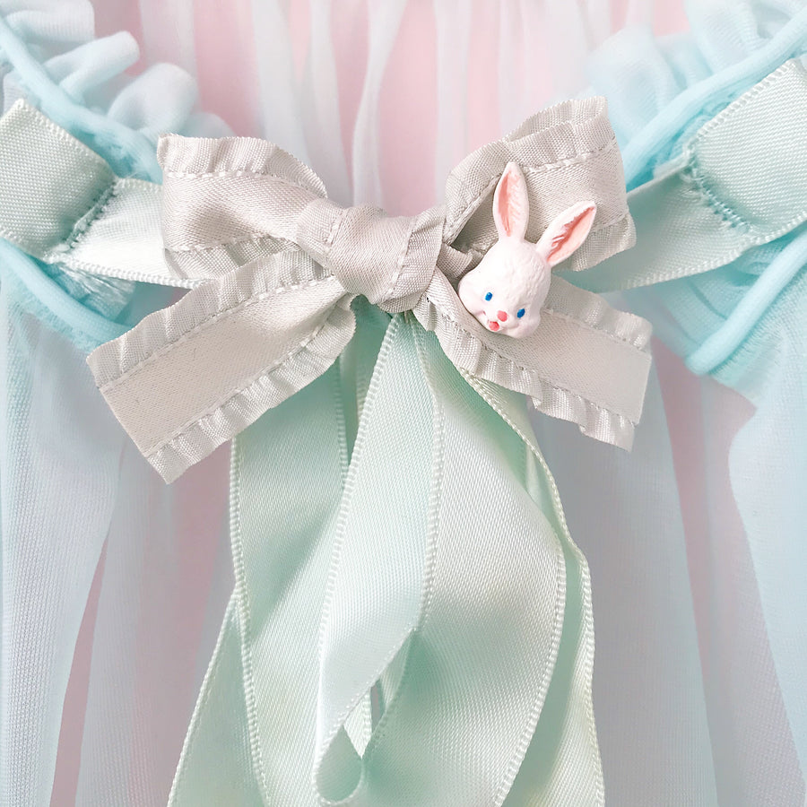 [Limited Edition] Fine handmade bunny doll hairpin (from Japanese Artist)