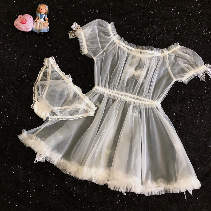 [Handmade Lingerie] Angelic Fairy Set - Peiliee Shop