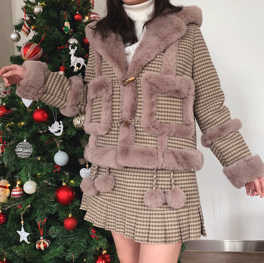 [Nakiss Original] All I want for Christmas is you - faux fur set
