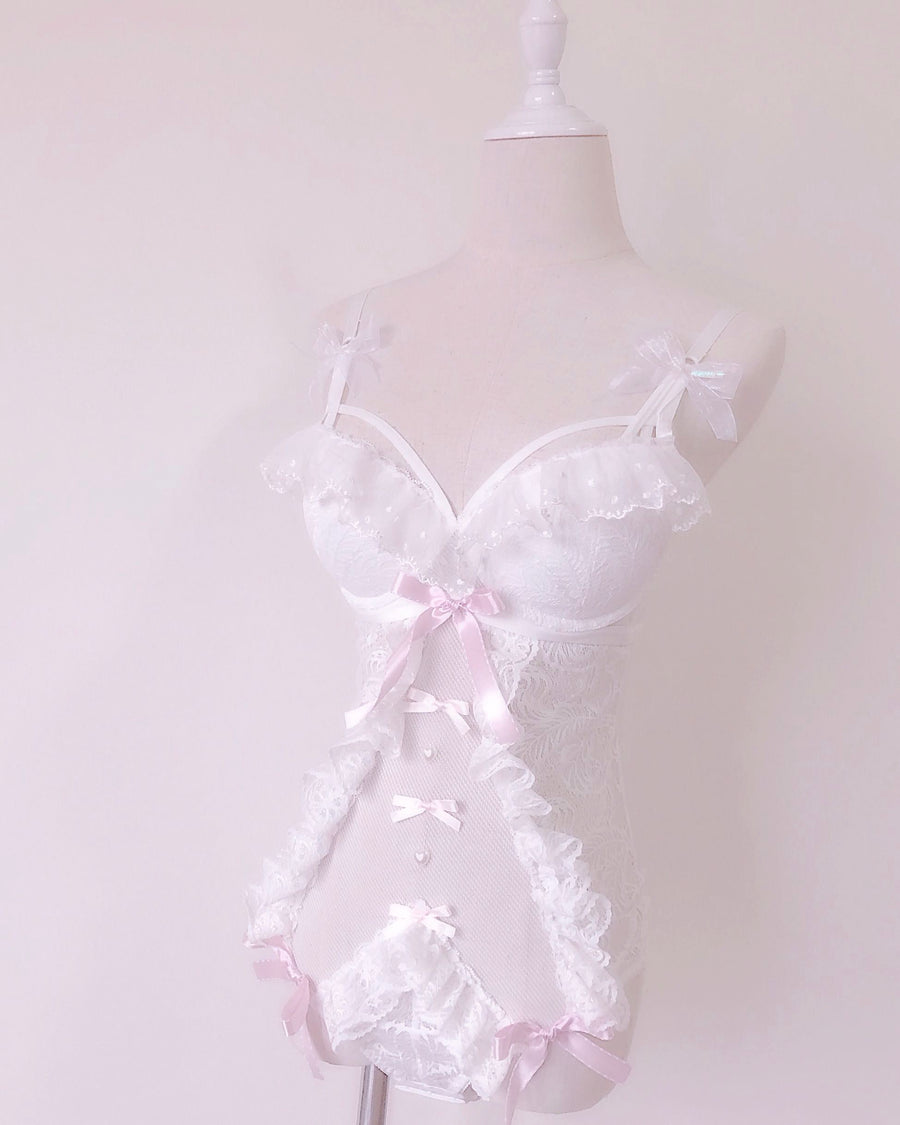 Angel Kiss Handmade Lace Body - Peiliee Shop