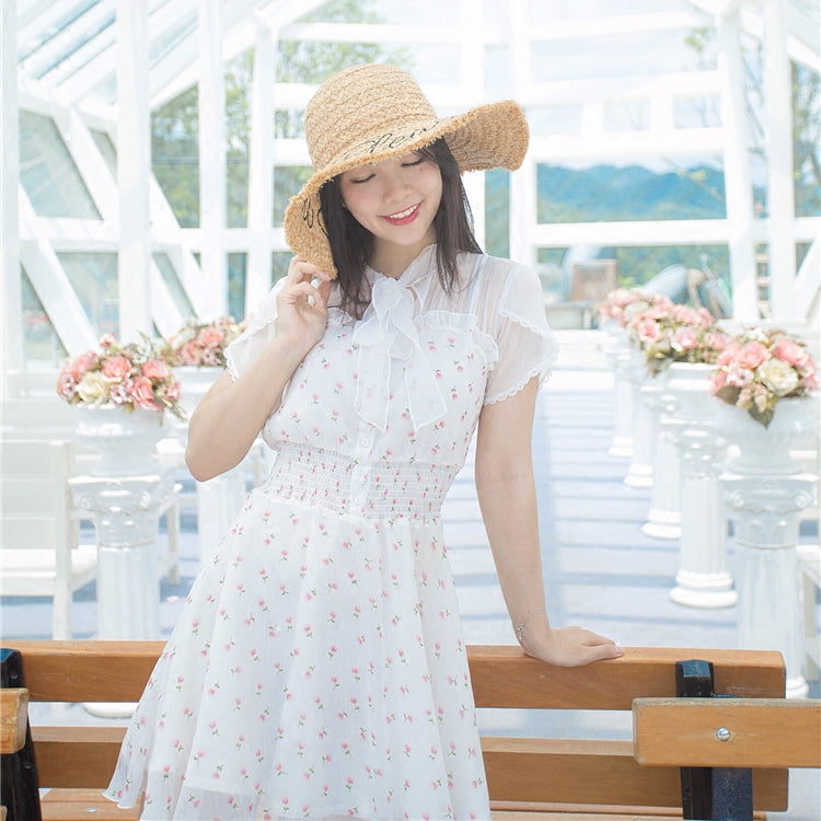In The Romance Flowery Dress - Peiliee Shop
