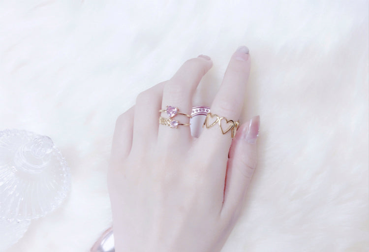 My Fairy Heart Ring [Free Shipping] - Peiliee Shop