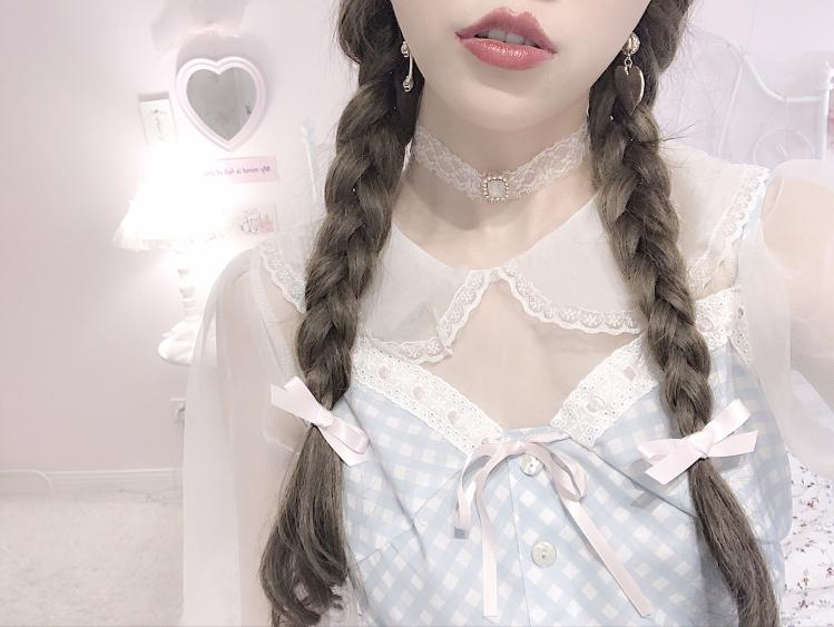 [2020 New] Yuki Hime Single Collar Pastel Babydoll Inner Blouse - Peiliee Shop