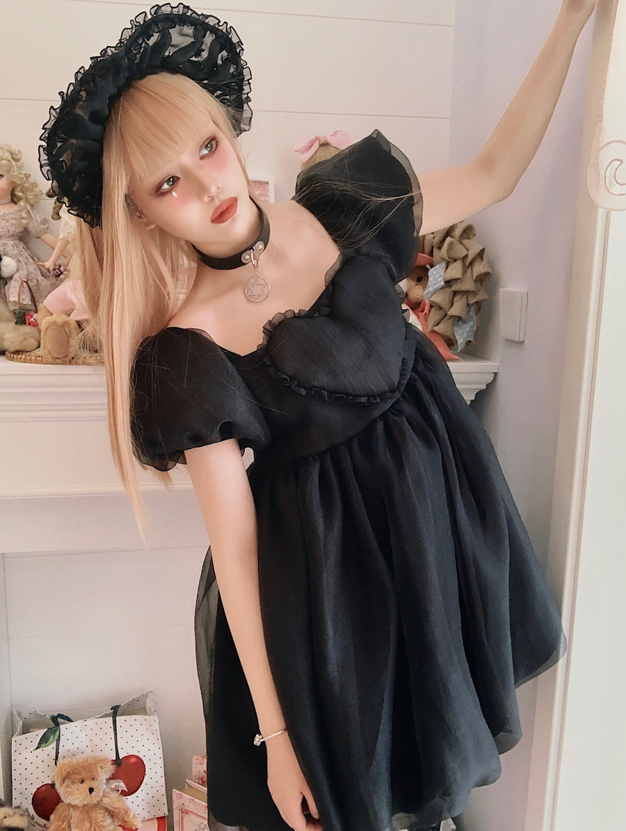 [NOLOLITA] Cicada pupa in the air dress - Peiliee Shop