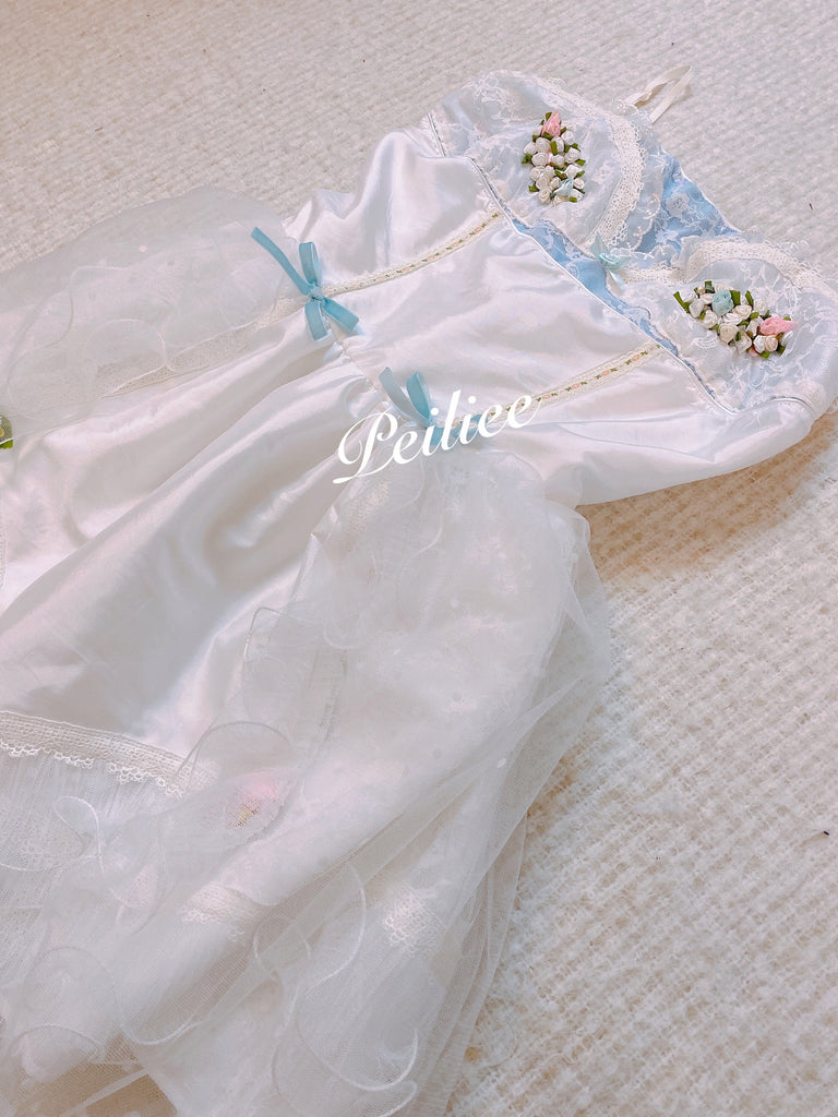 [Tailor Made] The Flower Bird Cadge Fairy Dress [Premium Selected] - Peiliee Shop