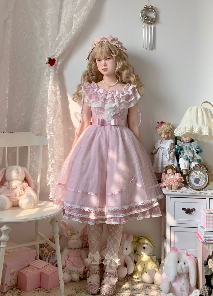 [Premium Selected] Pre-order April arrives as promised Dress Gown - Peiliee Shop