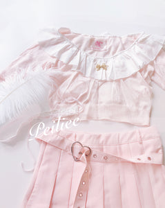 Sakura Doll Flowery Top - Peiliee Shop