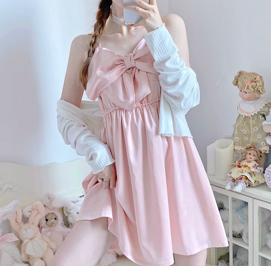 [Customized Sizes] Kiss Me Softly Satin Dress (Designer Canmi) - Peiliee Shop