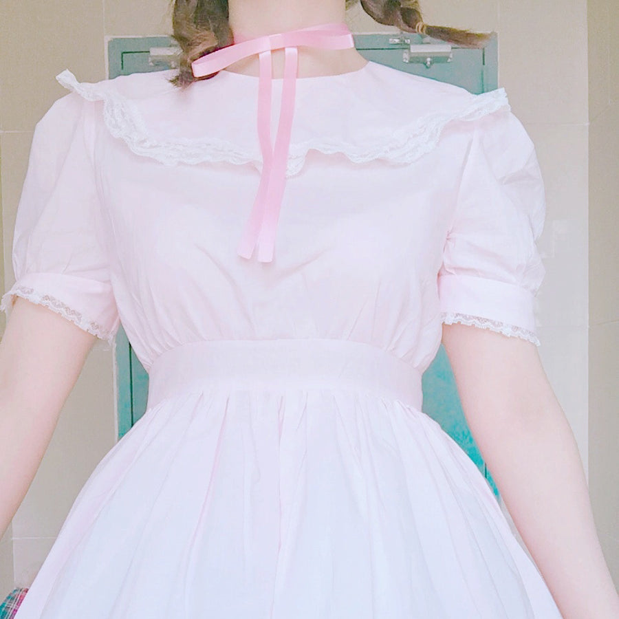 Dream doll in pink land dress - Peiliee Shop