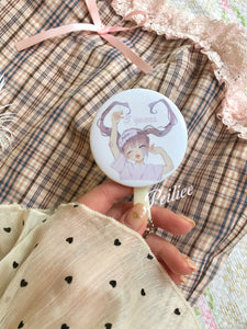 "Peiliee 3 Years Anniversary ""Style Peiliee"" Dolly pin and mirror set - Peiliee Shop"
