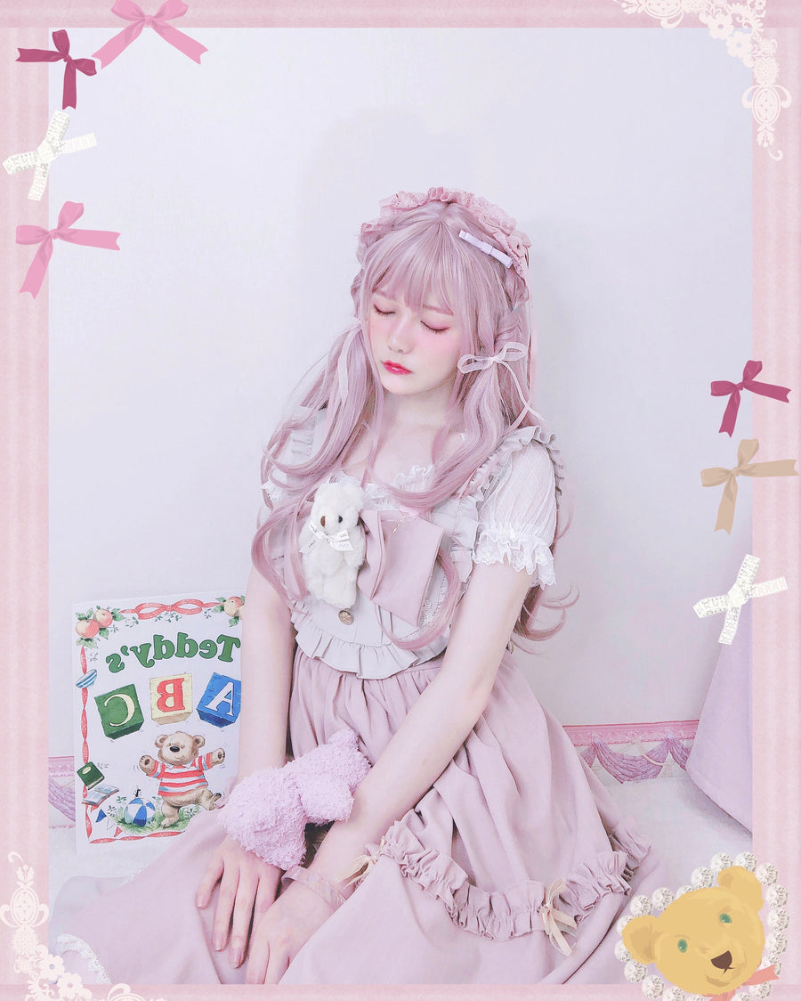 [Kitty Meow x Aoko] Sakura Dream Art Wig - Peiliee Shop