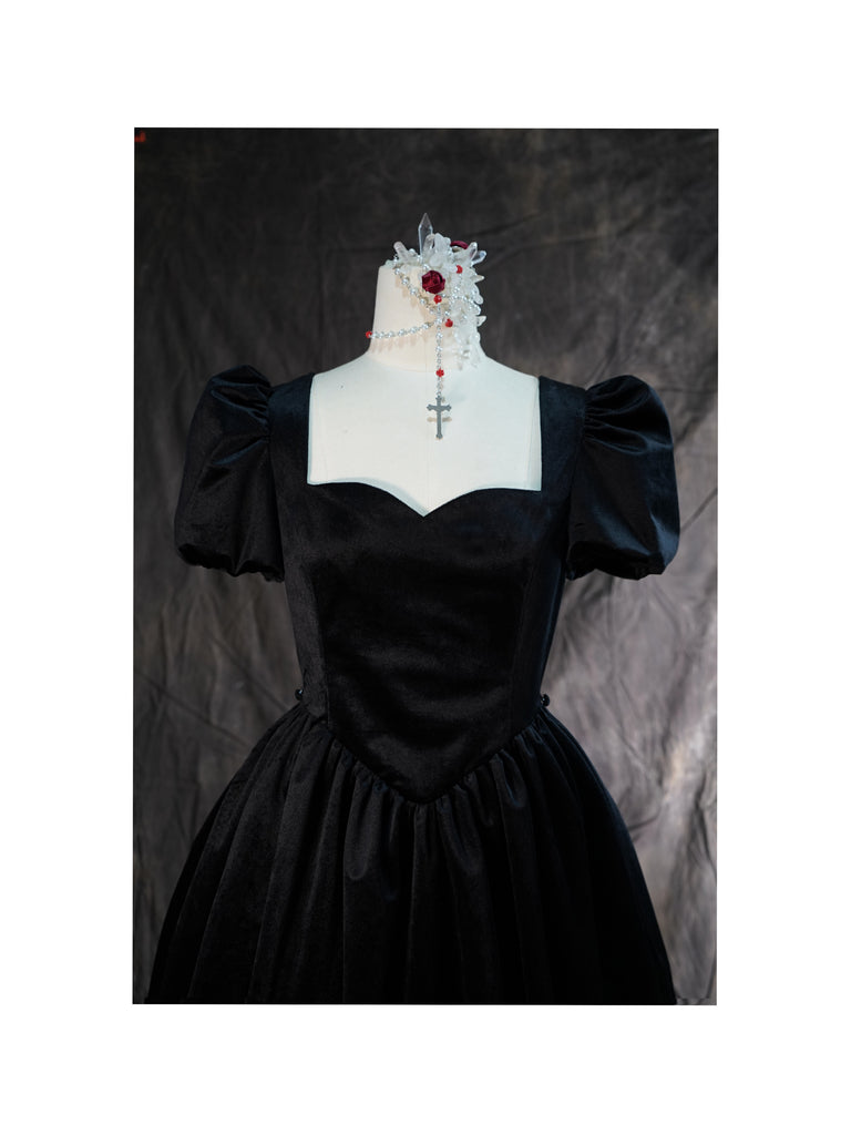 [Premium Selected Brand Nololita] The nightingale vintage princess gothic Lolita dress - Peiliee Shop