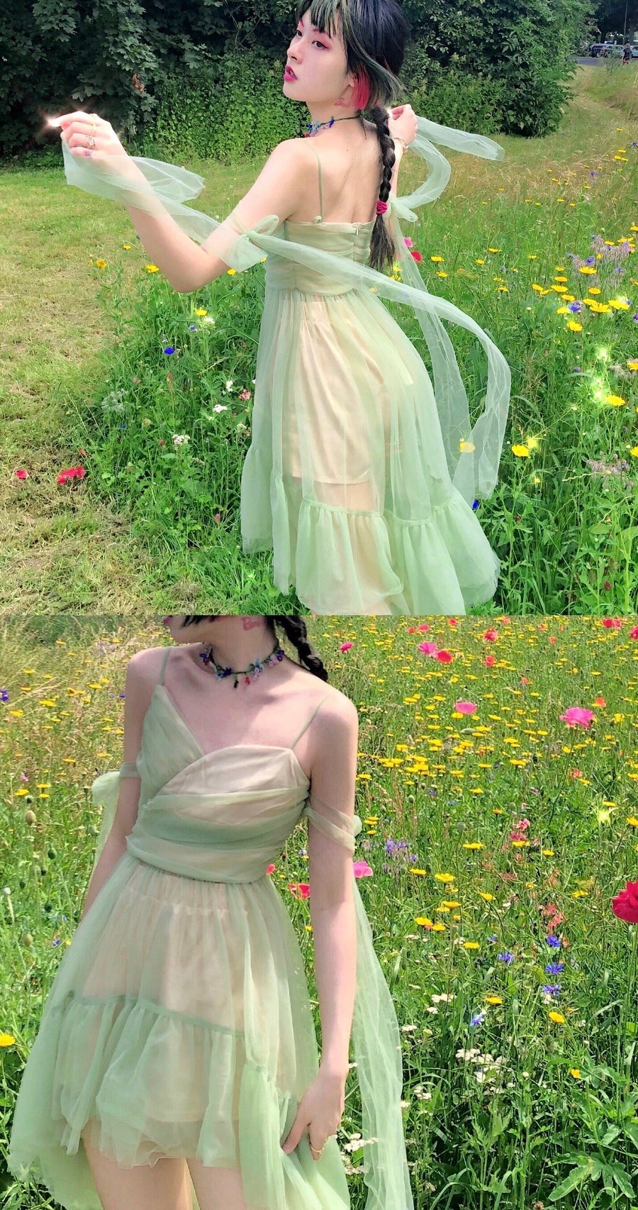 [Premium Selected] Spring Fireflies Tinker Bell Dream Dress (Designer Arilf) - Peiliee Shop