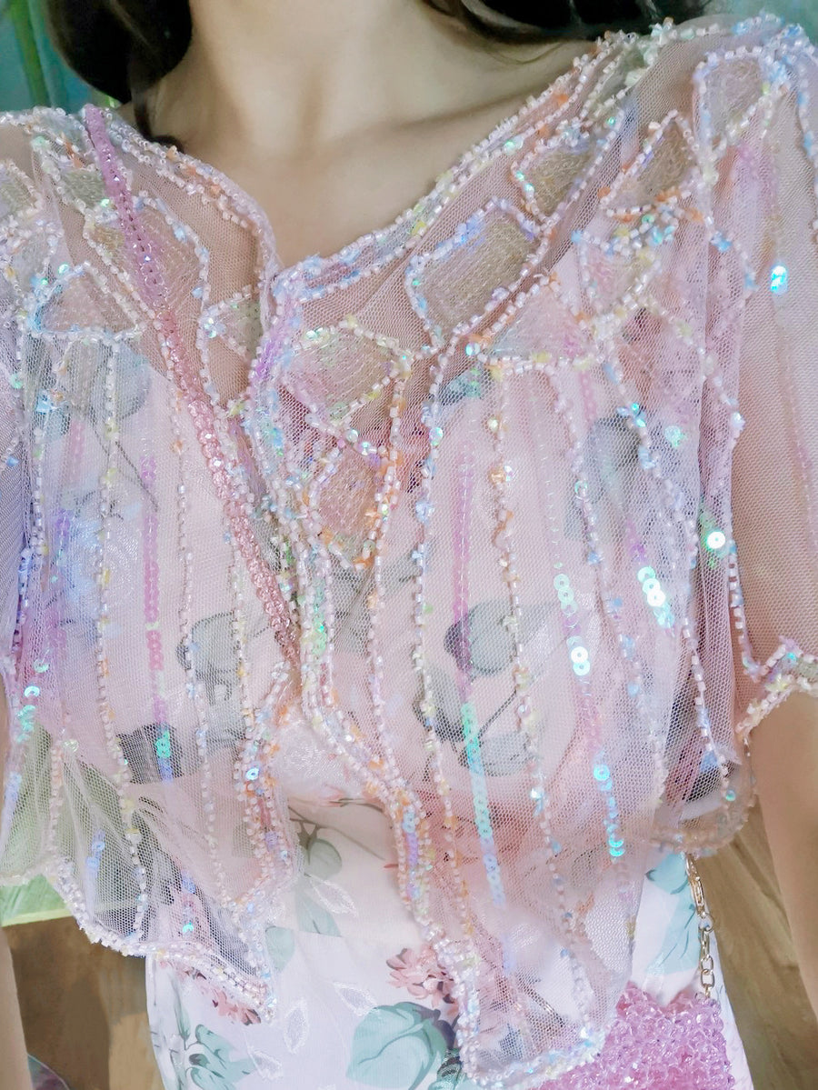Mermaid Shell Handmade Sparkling Outer - Peiliee Shop