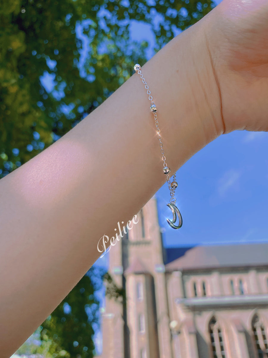 Moon Power 925 Silver Bracelet - Peiliee Shop