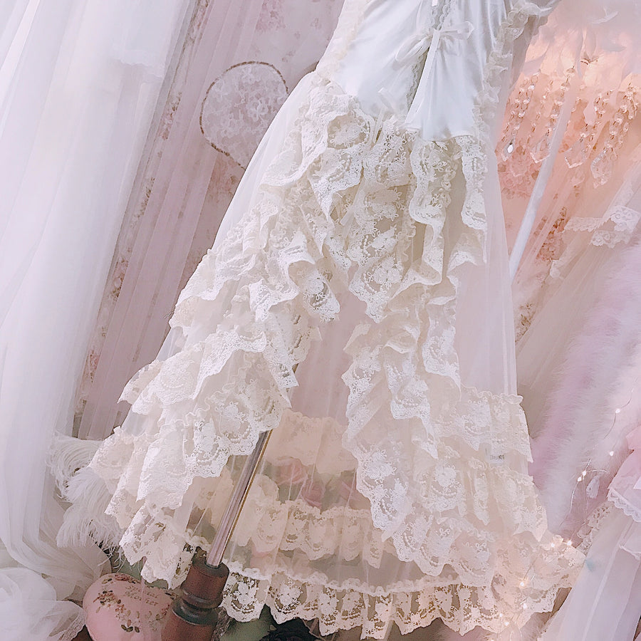 Product Photos Only [Premium Selected] Dream Fairy handmade vintage lingeire body dress - Peiliee Shop