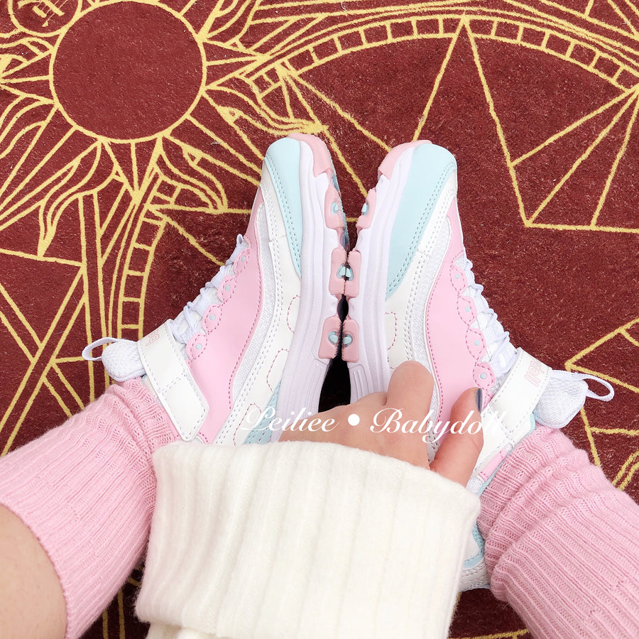[Limited Color] Strawberry Cheese Cake Babydoll Sneakers - Peiliee Shop