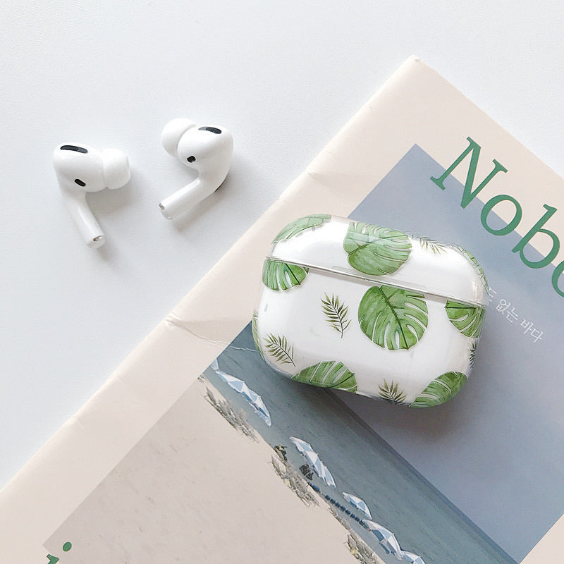 [AirPods 3 case] Peach Forest