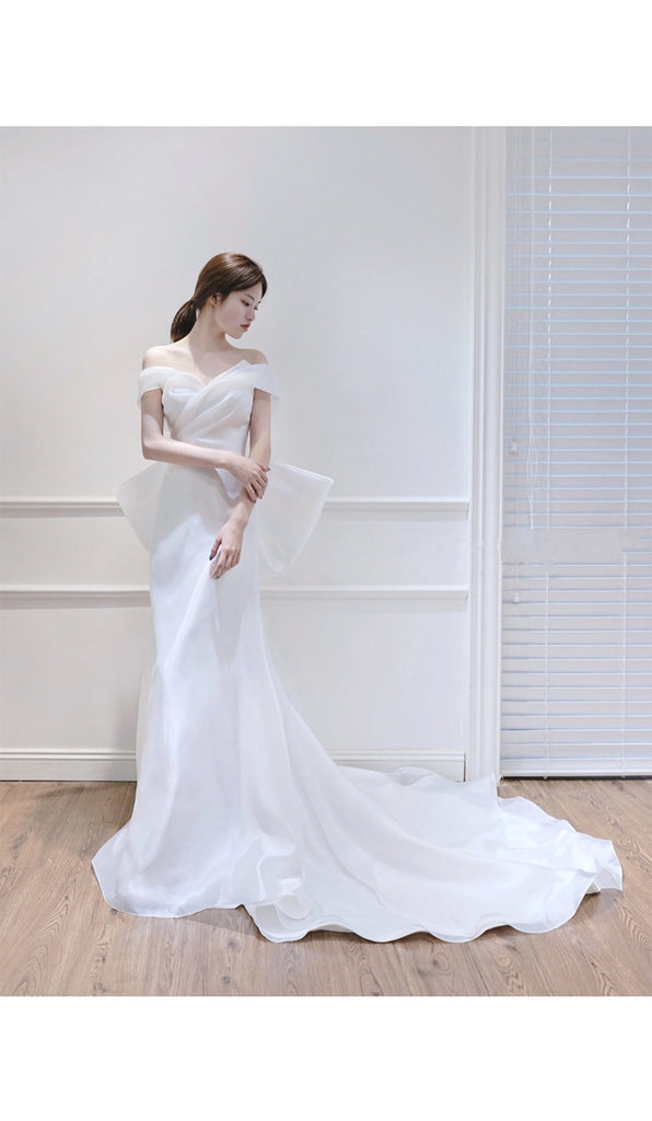 [Customized Wedding Dress] Snow Angel - Peiliee Shop