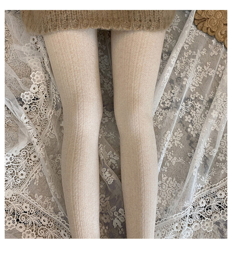 Winter Must Have! Vintage Doll Comfy Thick Stocking - Peiliee Shop