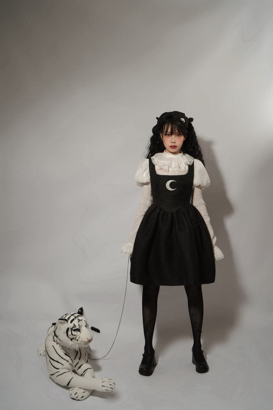 [Nololita Official] Rose Fantasy Vintage Moon Dress [Premium Selected] - Peiliee Shop