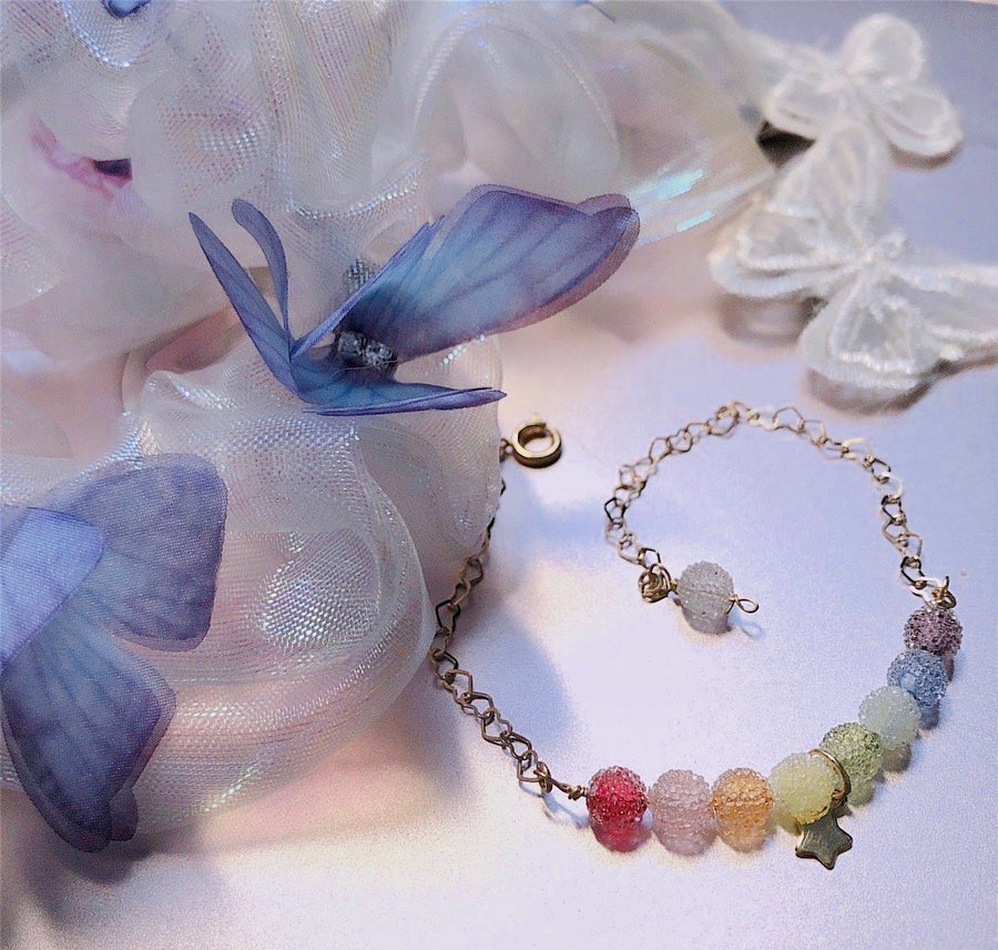 Fairy Dream Butterflies Hairband Yarn Bracelet - Peiliee Shop