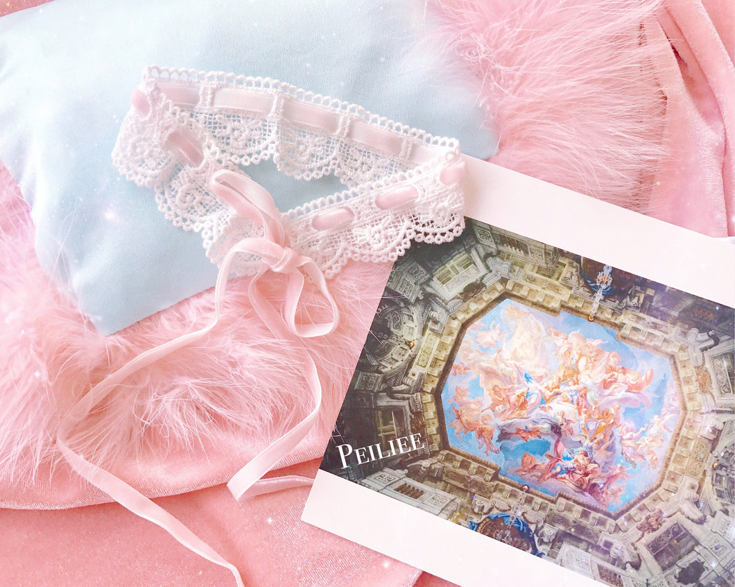 Peiliee The Angelic Dream Princess Sissi Lace Choker - Peiliee Shop