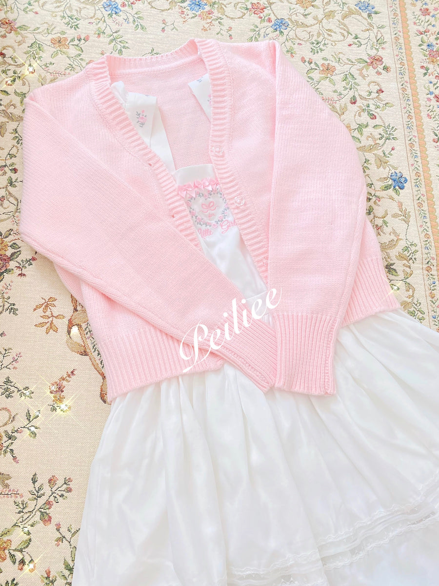[Exclusive To PeilieeShop] Angel Doll Cotton dress - Peiliee Shop