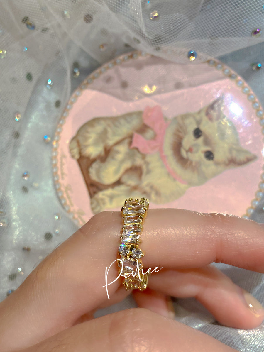 Angel Dream Crystal Memory Ring