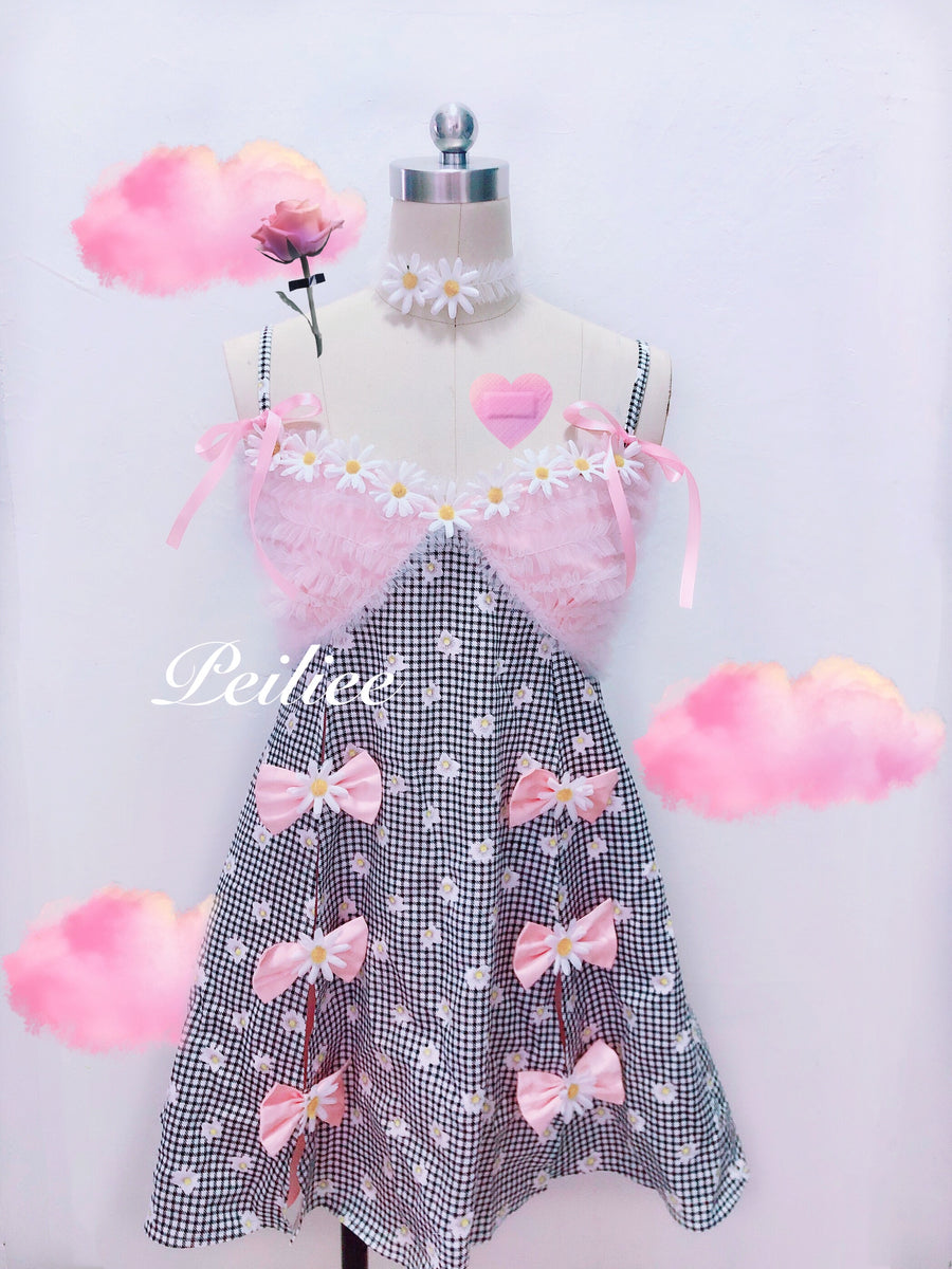 [Limited Edition] Rosary Daisy Petite Dress - Peiliee Shop