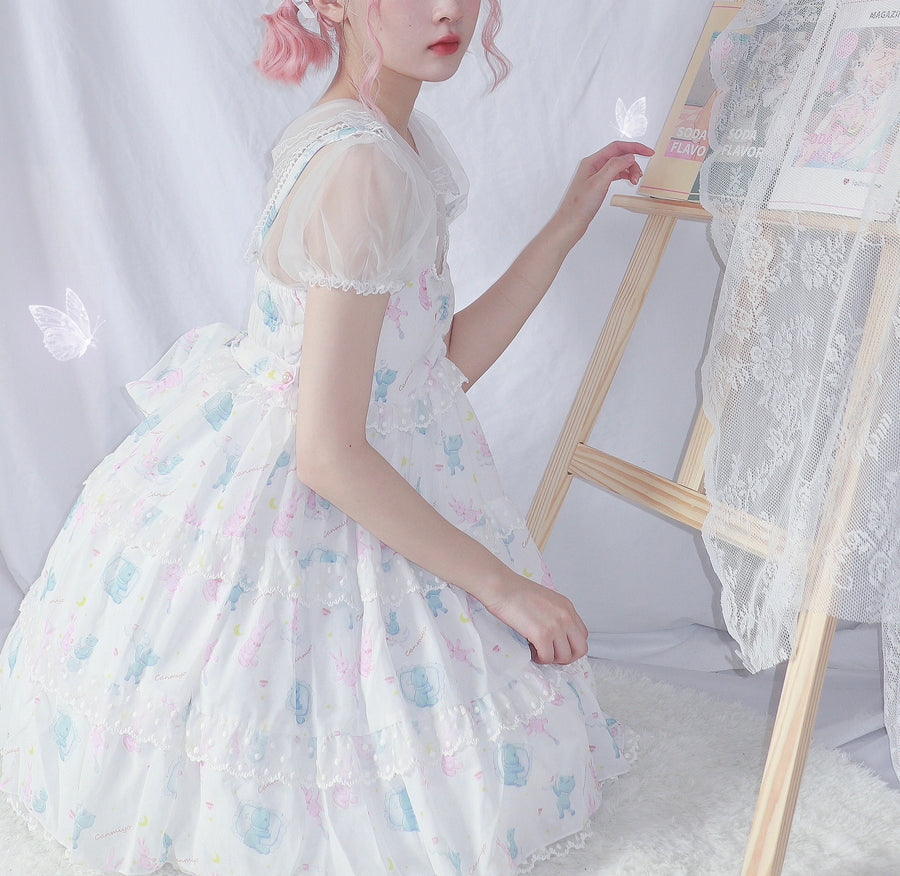 Nighty night bun JSK Dress - Peiliee Shop