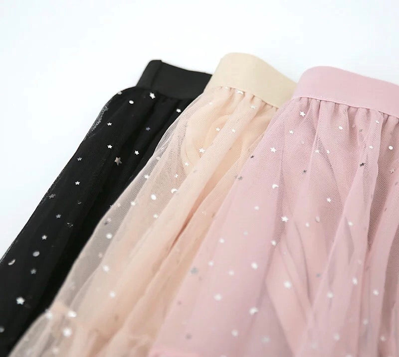 Shine stars and you pastel fairy skirt - Peiliee Shop