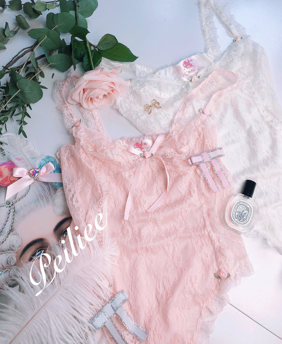 [Product Image Only] Pearly Mermaid Pastel Fairy Lace Body - Peiliee Shop