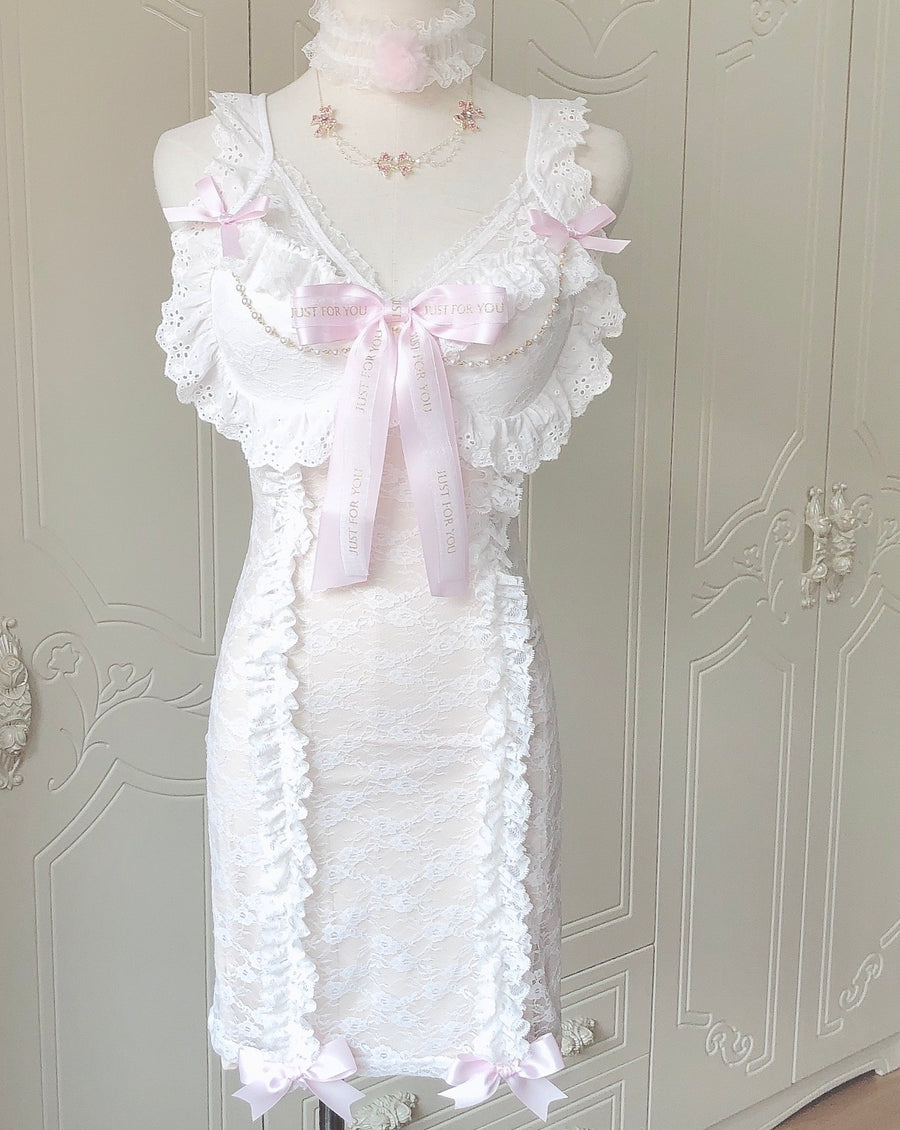 [Handmade Lingerie] Just for you french lace dress