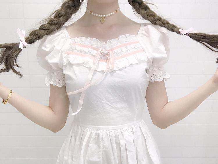 [Peiliee Finest] Swan Lake Doll Puff Sleeve Version  Dress - Peiliee Shop