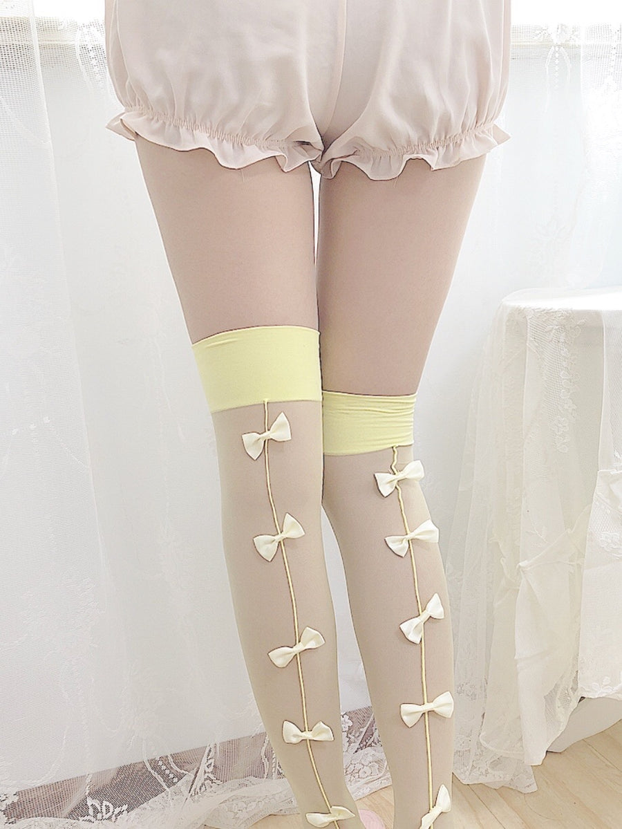Lovely Dolly Ribbon Girl Stocking - Peiliee Shop