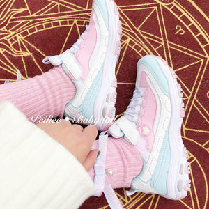 Strawberry Cheese Cake Babydoll Sneakers - Peiliee Shop
